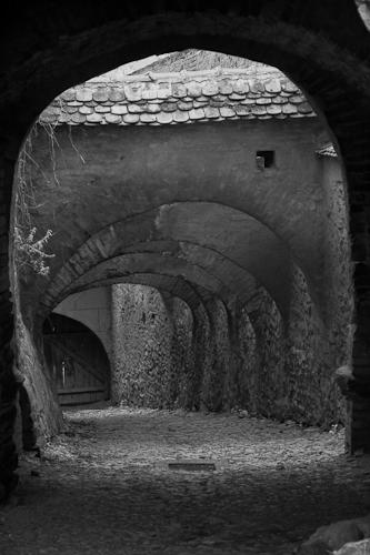 Bolti in cetatea Biertan
