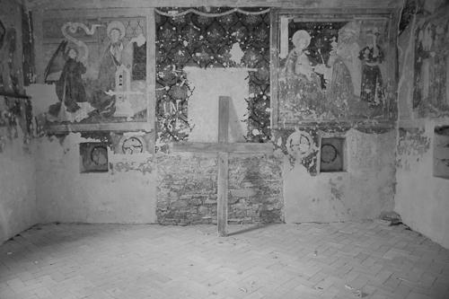 Altar medieval din Cetatea Biertanului