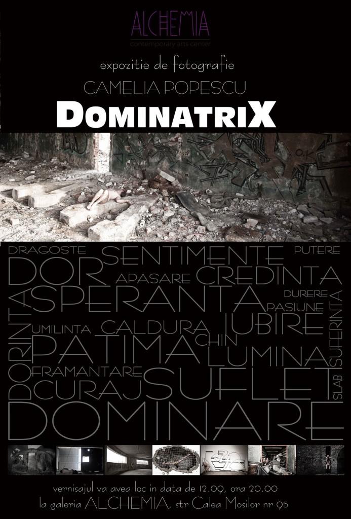 Afis_DominatriX_Bucuresti